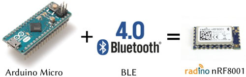 Getting Started with the nRF8001 Bluefruit LE Breakout