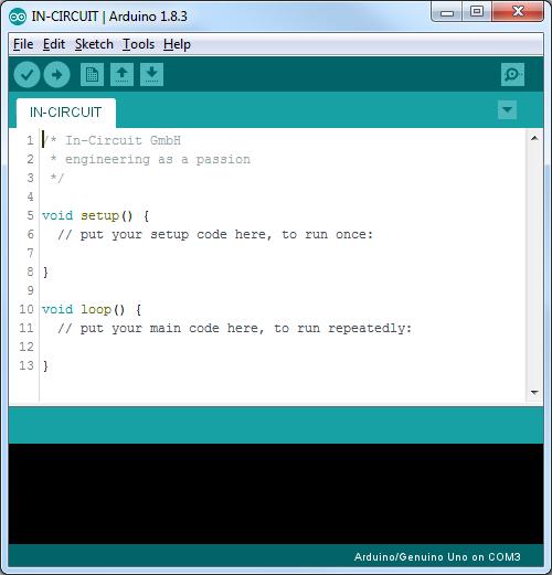 radino/radino32 software - InCircuit